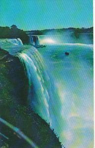 Canada Ontario Niagara Falls The American And Horseshoe Falls From Prospect P...