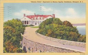Beacon Rock, Approach To Marion Eppley Residence, Newport, Rhode Island, PU...