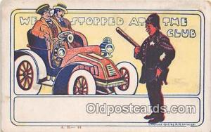 Police, Cop  Postcards Post Cards Old Vintage Antique  Police, Cop