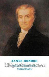 James Monroe, 5th President Unused