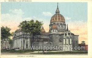 Montreal Canada, du Canada La Catedrale, Catholic Cathedral  La Catedrale, Ca...