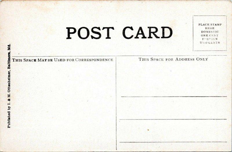 1909 Ohio Troop A Leading President Taft Inaugural Parade Washington DC Postcard