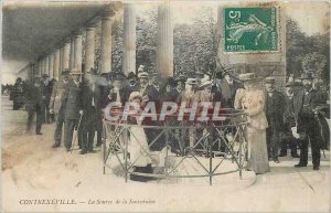 Old Postcard CONTREXEVILLE - The source of the Sovereign