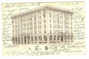 HOTEL SELWYN, Charlotte, North Carolina, PU-1907
