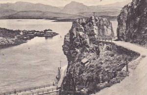 The Phoenix-Globe Highway Above Roosevelt Dam, Arizona, 1900-1910s