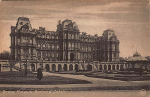 Bowes Museum Barnard Castle Postcard