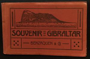 Postcard Unused Book of 12 Postcards Gibraltar LB