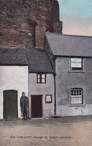 CONWAY OUAY, Wales, 1900-1910s; The Smallest House In Great Britain