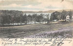 Lake View Lake Huntington NY 1906
