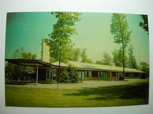 pre-1980 MOTEL ALLENWOOD Wescosville Pennsylvania PA Unused Postcard y8607