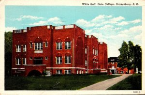 South Carolina Orangeburg White Hall State College 1951 Curteich