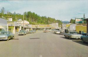 Main Street , BURNS LAKE , B.C. , Canada , 50-60s