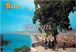 Modern Postcard The Sun of the French Riviera Nice General view