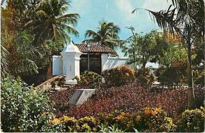 Garden at La Forta Ieza the Goverment House Puerto Rico