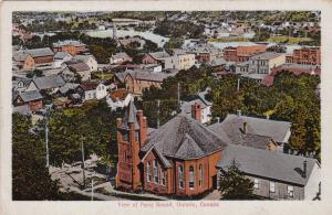 Aerial View of PARRY SOUND , Ontario , Canada , 00-10s