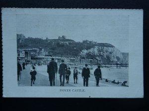 Kent DOVER CASTLE & PROMENADE c1904 Postcard