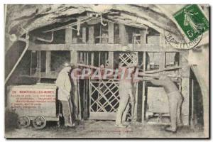 Postcard Old Mine Mines Montceau les Mines Recipe Lucy wells