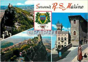 Modern Postcard Souvenir R S Marino