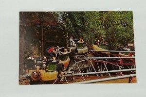 Euclid Beach Park 1950s-60s Postcard Cleveland OH The Bug Spinning Amusement