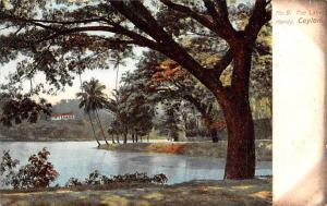 Kandy Ceylon, Ceylan The Lake Kandy The Lake