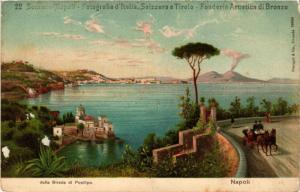 CPA NAPOLI dalla Strada di Posilipo. ITALY (525688)