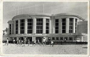 Belgium Knokke Albert Strand Beach Real Photo 01.21