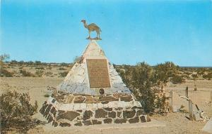 Quartzsite Arizona~Hi Jollys Tomb~Arabian Monument~1950s Postcard