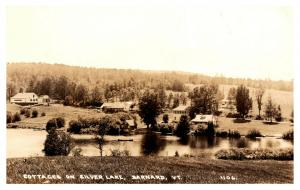 Vermont  Barnard , Cottages on SIlver lake , RPC