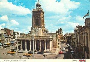 Postkarte England Northampton All Saints Church