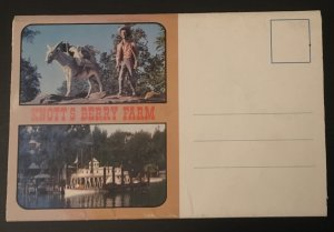 Knott's Berry Farm Fold Out Postcard