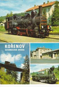 Czech Republic Korenov Multi View Trains