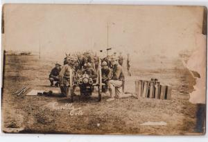 RPPC, American Gun, Cantillo Foto