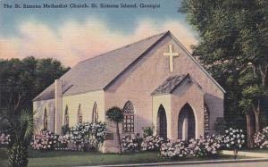 The Saint Simons Methodist Church Saint Simons Island Georgia