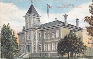 VALLEYFIELD , Quebec , Canada , 1931 ; Palais de Justice
