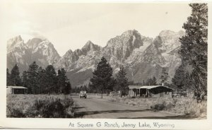RP; JENNY LAKE, Wyoming, 20-40s; At Square G Ranch # 1