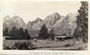 RP; JENNY LAKE, Wyoming, 20-40s; At Square G Ranch # 1