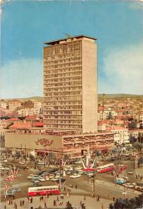 Turkey Ankara The Square of Kizilay Auto Cars Busses