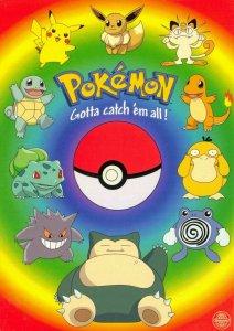 Pokemon Postcard, Top Ten Pokemon Characters (PC0146) 62V