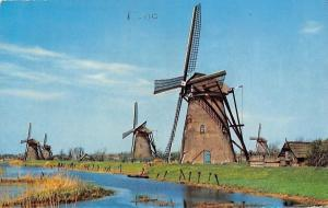 Netherlands Hollandse Molen, Dutch Windmills Moulin a Vent