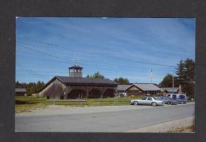 ME Lumberman's Logging Museum PATTEN MAINE Postcard