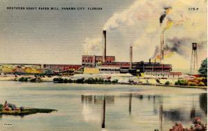 FL - Panama City. Southern Kraft Paper Mill