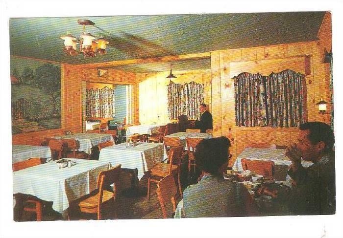 Interior, Duff's Restaurant, Winchester, Virginia, 1940-1960s