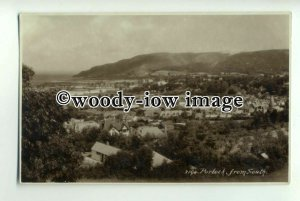 tp0933 - Somerset - View of the Flatlands of Portlock, from the South - Postcard
