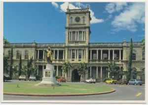 King Kamehameha Statue, Hawaii, unused Postcard