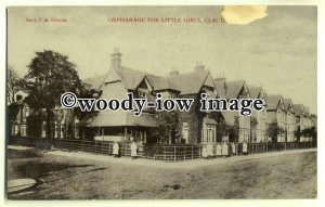 tp0619 - Essex - Early View Orphanage for Little Girls, Clacton-on-Sea- postcard