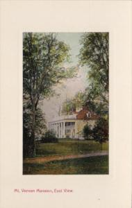 Virginia Mount Vernon Mansion East View