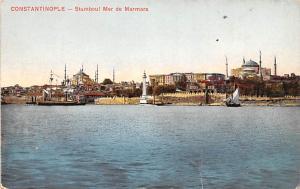 Turkey Old Vintage Antique Post Card Stamboul Mer de Marmara Constantinople U...