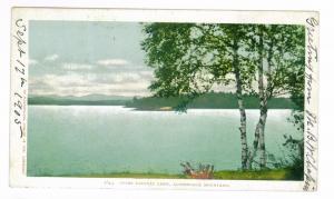 Ampersand, New York to Athens, Maine 1905 used Postcard, Saranac Lake