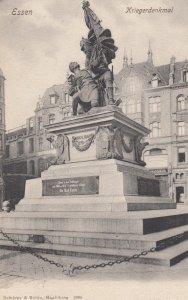 ESSEN , Germany , 1890s ; Krierdenkmal