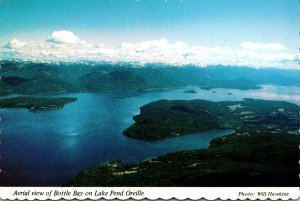 Idaho Hope Aerial View Of Bottle Bay On Lake Pend Oreille